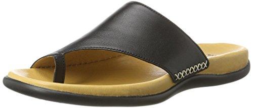 Gabor Shoes 63.7, Chanclas Mujer Negro (schwarz 57)