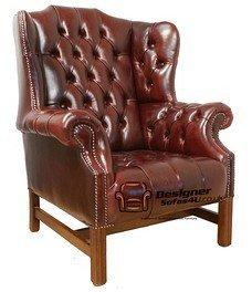 Designer Sofas4u Chesterfield Churchill Alta ala Trasera ...