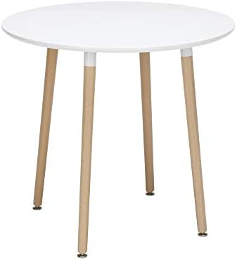 OFM 161 Collection Mid Century Modern 32 Round Dining Table