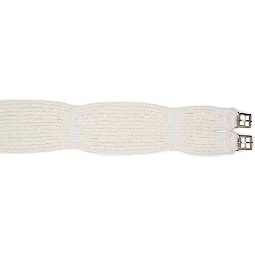 (Ovation Mohair Corded Girth Natural, 48)