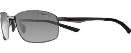 (Nike Avid SQ Sunglasses (Gunmetal Frame, Grey Lens))