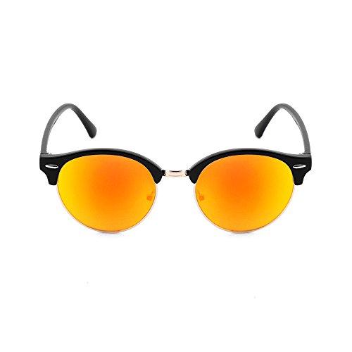 Milano Noir TWIG soleil Orange de Concept Homme Lunettes 7nqwg58