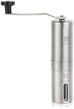 Magicafe Stainless Steel Portable Hand Manual Coffee Grinder