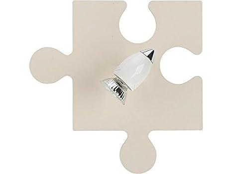 Puzzle ecru i applique da parete lampada da parete lampada stanza
