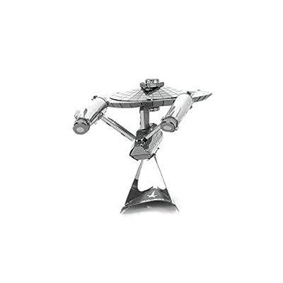 Metal Earth Fascinations Star Trek USS Enterprise NCC-1701 3D Metal Model Kit: Toys & Games