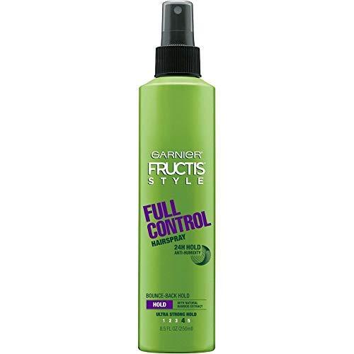 - Garnier Fructis Style Full Control Anti-Humidity Non Aerosol Hairspray 8.5 oz