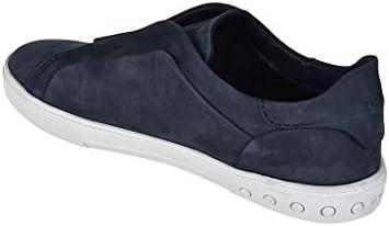 Tod's Luxury Fashion Herren XXM0XY0T2005IPU806 Blau Leder Slip On Sneakers   Jahreszeit Permanent