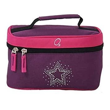 63053889a126 Kids Travel Toiletries Bag, Personal Organizer for Bathroom and Shower  Needs (Bling Rhinestone Star) - Obersee
