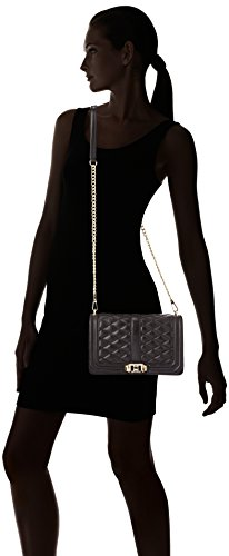 Light Bag Minkoff Rebecca Love Black Hardware Body Cross Gold IpYzwYv