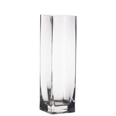Amazon 12 Tall Square Glass Vase Home Kitchen