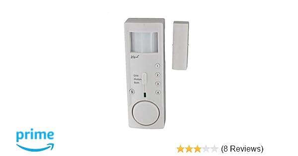 ZOpid 2-in-1 Motion Detector and Door/Window Contact Sensor Mini Alarm System