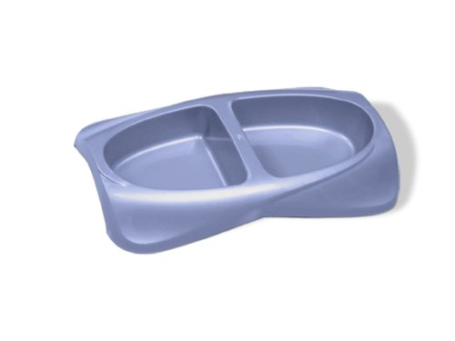 Pureness Lightweight Small Double Dish 16-Ounce Per Side, My Pet Supplies