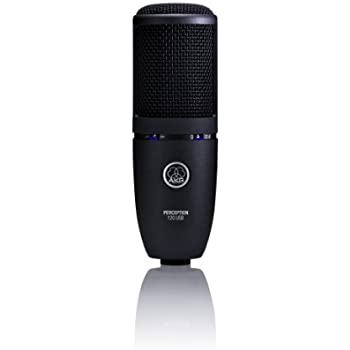 AKG PERCEPTION 120 USB Microphone for Recording (Black)