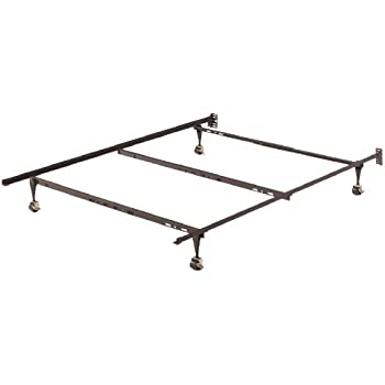 this item home source industries 12416 metal bed frame adjusts from twin to full to queen