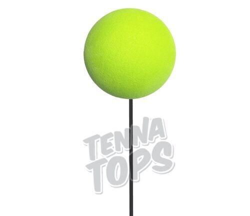 Tenna Tops Plain Lime Green Car Antenna Topper / Car Mirror Dangler / Foam Craft Ball