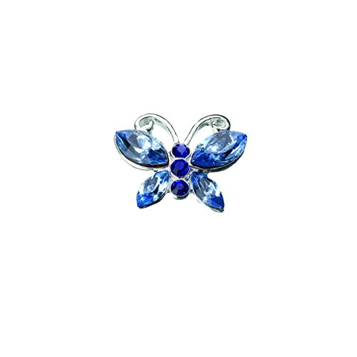 Blue Butterfly Pin - Lillian Rose Something Blue Butterfly Bride Wedding Pin