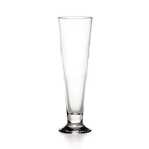 Mikasa Napoli Pilsner Glasses, 13-Ounce, Set of 4
