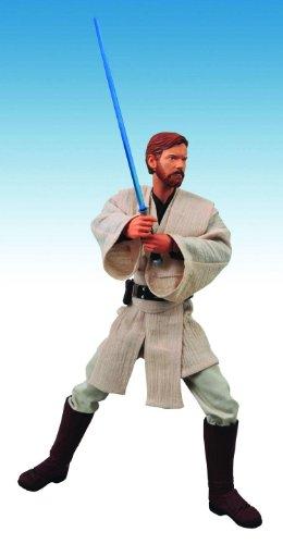 Star Wars: Ultimate Quarter Scale: Episode III Obi-Wan Kenobi Action Figure (Scale Quarter Ultimate)