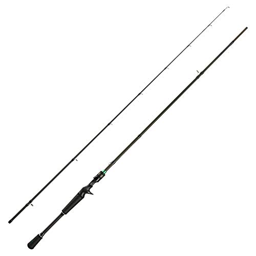 Piscifun Serpent Two Piece Casting Rod Fuji Line Guides IM7 Carbon Blank Baitcasting Fishing Rods (6'9