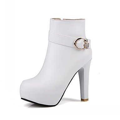 RTRY Women'S Boots Spring Fall Winter Platform Comfort Novelty Patent Leather Leatherette Wedding Office &Amp; Career Dress Casual Party &Amp; Evening US5 / EU35 / UK3 / CN34 ZhsLI
