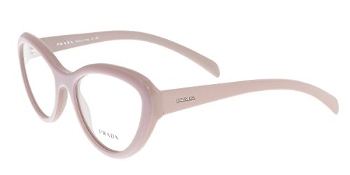 Prada Unisex 0PR 25RV Taupe One Size (Prada Eye Cat Frames Glasses)