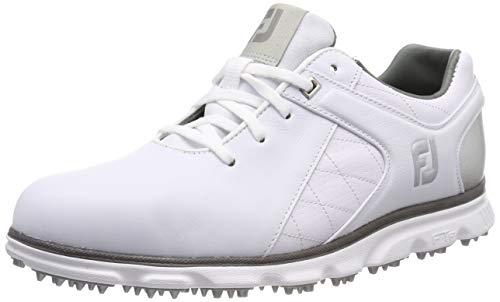 FootJoy Pro SL Golf Shoes - 53579 White/Silver - 8 Medium