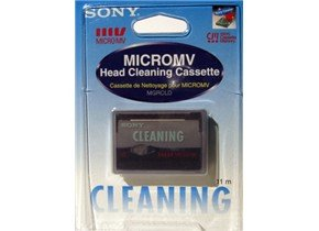 Sony MGRCLD micro MV Cleaning Cassette (Cassette Head Cleaner Tape)