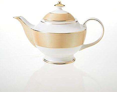 Olla de té de Porcelana China Antigua con infusor Cafetera de Porcelana de Europa 1000 ml Tetera de cerámica Café Teatime Drinkware Oro: Amazon.es: Hogar