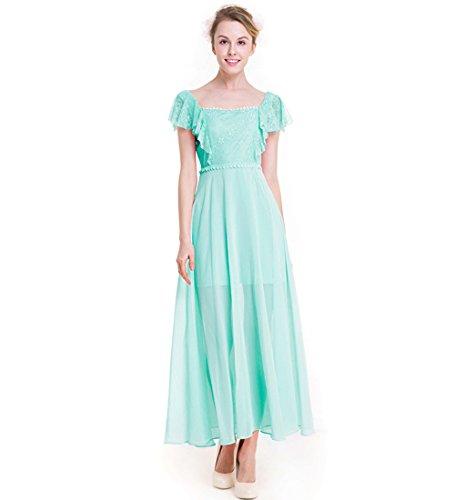 Kaxidy Damen Langes Kleider Festliches Kleid Hochzeitsfeier