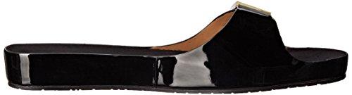 De Calvin Sandale Marlie Klein Femmes Noir forme Plate Femmes Plate Marlie forme Klein Calvin Sandale Hwq7OrUxH