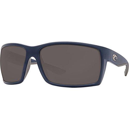 Costa Reefton Polarized 580P Sunglasses Matte Dark Blue Gray