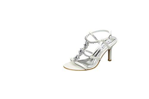 Tacón Lexus Hueso Marfil Mujer Zapatos De wgxgEz