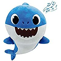 Baby Shark- Peluche Musical Daddy Shark, Color Azul