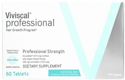 Viviscal 60 Tablets Professional Hair Growth Program, 60 Tablets