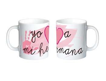 Pinkmarket-5504505-Taza-YO-A-MI-HERMANA-cermica-de-desayuno-y-caf-Mug-Cup-de-desayuno-para-leche-agua-zumo-de-frutas-Diseo-CORAZON-ENAMORADO