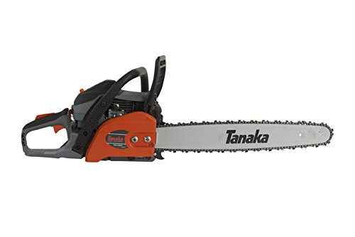 Tanaka TCS51EAP 50.1CC 20-Inch Rear Handle Chain Saw with PureFire Engine by Tanaka