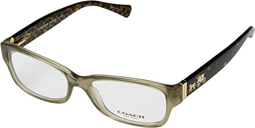 Coach Women's HC6078 Eyeglasses Olive/Dark Tort Gold Sig C - Coach Sunglasses Prescription