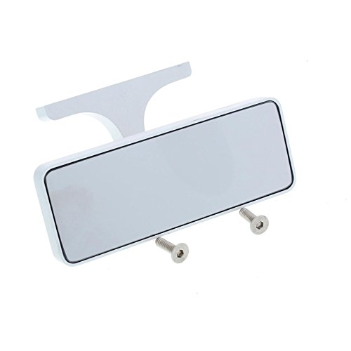 - Billet Aluminum Inside Rear View Mirror, Screw-On