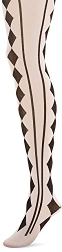 amscan Black & White Harlequin Tights - Adult Standard, Multicolor ()