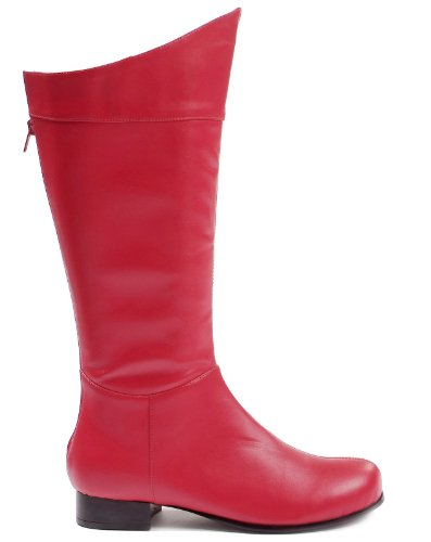 Ellie Shoes Adult Red Super Hero Boots -