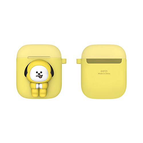 BT21 New Official Merchandise - Two-Tone Airpods Case (Pose Type) Ring Type (CHIMMY)
