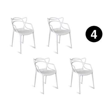 De Bureau Lot Salon Inspirée Master Blanches Chaises Salle A 4 H2DE9IW