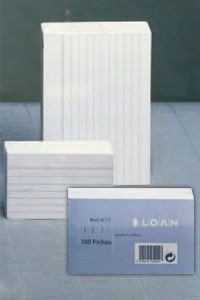 Loan Número 4 - Fichas rayadas, 100 unidades