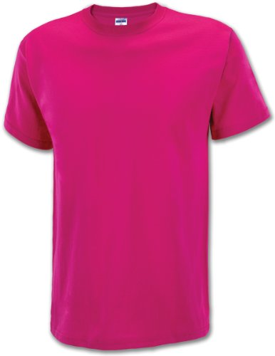 Adult Cyber Pink Tee-Large