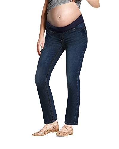 HyBrid & Company Super Comfy Stretch Women's Maternity Bootcut Jeans PM4192WC Rinse WASH2 Medium