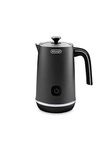 De'Longhi EMF1BK Automatic Metal Milk Frother, Black