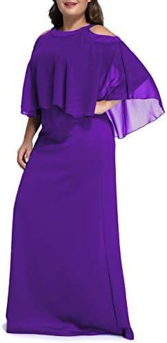 Formal Evening Party Maxi Dress