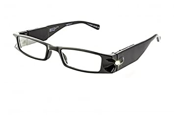 6c41554e0ed Image Unavailable. Image not available for. Color  Foster Grant Men Women  Liberty LightSpecs LED Lighted Black Reading Glasses ...