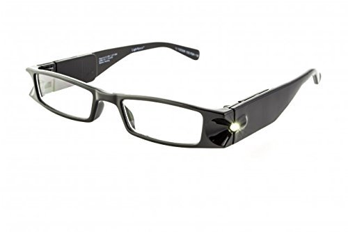 Foster Grant Lightspecs - +2.50 Magnification Glasses with Black Frames by - Mall Foster City