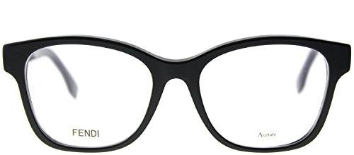 Vista Donna Nero Montature Ff Fendi 0276 black zCtqScwp